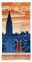 New Yorker January 12th, 2009 Beach Towel