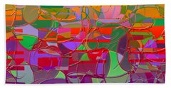 1021 Abstract Thought Beach Towel
