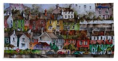 107 Windows Of Kinsale Co Cork Beach Towel
