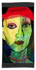 1084 - La  Signora ... Beach Towel
