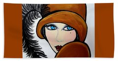 Art Deco  Gail Beach Towel