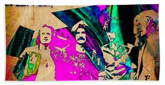 Led Zeppelin Beach Towel by Marvin Blaine