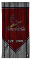 St Louis Cardinals Beach Towel