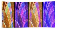 1260 Abstract Thought Beach Towel
