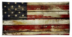 American Flag 54 Beach Towel