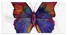 13 Narcissus Butterfly Beach Sheet