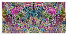 1332 Abstract Thought Beach Towel