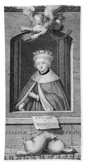 1400s 1480s Portrait King Edward V Beach Towel