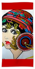 Art Deco  Ann Beach Towel