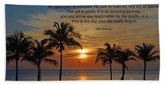154- Bob Moawad Beach Towel
