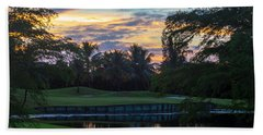 15th Green At Hollybrook Beach Towel