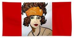 1920's Flapper Girl Beach Sheet