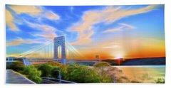 Sunset Dream Beach Sheet