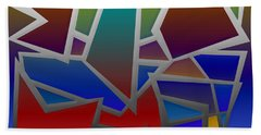 1624 Abstract Thought Beach Towel