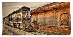 Locomotive 1637 Norfork Southern Beach Towel