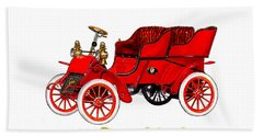 1902 Cadillac Model A Runabout Beach Towel