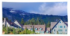 1916 Paradise Inn. Mount Rainier National Park Beach Towel