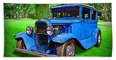 1930 Ford Beach Towel