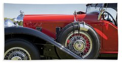 1932 Stutz Bearcat Dv32 Beach Towel