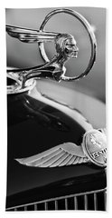 1933 Pontiac Hood Ornament 4 Beach Towel