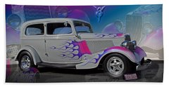 1934 Ford Delux Beach Towel