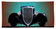 1934 Ford Phaeton Convertible Beach Towel