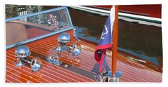 1937 Chris Craft Runabout Beach Towel