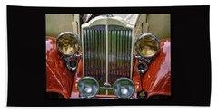 1928 Classic Packard 443 Roadster Beach Towel