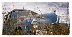 1940 Dodge 4 Door Luxury Liner Beach Sheet
