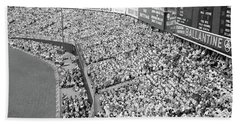 1940s 1950s Large Crowd Yankee Stadium Beach Towel