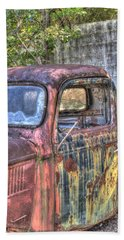 1940s Pickup Truck 2 Beach Towel