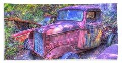 1940s Pickup Truck Beach Sheet