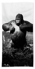 1940s Stuffed Gorilla Gorilla Gorilla Beach Towel
