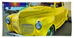1941 Plymouth Beach Towel