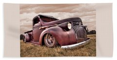 1941 Rusty Chevrolet Beach Towel