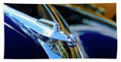 1947 Packard Hood Ornament 4 Beach Towel