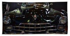 1948 Cadillac Front Beach Towel