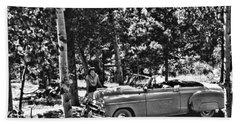 1950's Cadillac Beach Towel