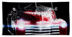 Classic Cars Beach Towel featuring the photograph 1950's Chevrolet Truck by Aaron Berg