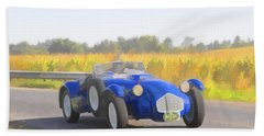 1953 Allard J2x Roadster Beach Towel