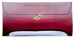 1953 Chrysler Gs-1 Ghia Hood Emblem - Grille Beach Towel