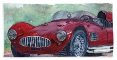 1954 Maserati A6 Gsc Tipo Mm Beach Towel