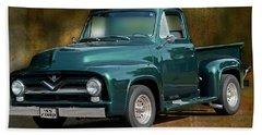 1955 Ford Truck Beach Towel