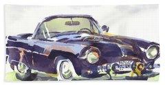 1955 Thunderbird Beach Sheet