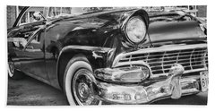 1956 Ford Fairlane Beach Towel