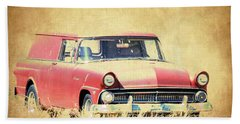 1956 Ford Sedan Delivery Beach Towel
