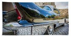 1957 Cadillac Eldorado Beach Towel