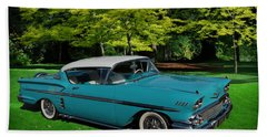1958 Chev Impala Beach Towel