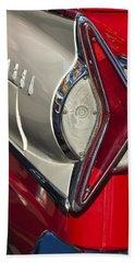 1958 Edsel Wagon Tail Light Beach Towel