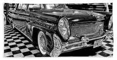 1958 Lincoln Continental Mk IIi Beach Towel